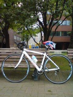 本日の自転車トレーニング